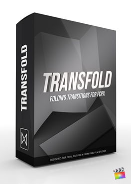 Final Cut Pro X Transition TransFold from Pixel Film Studios