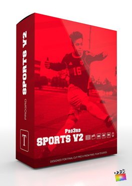 Final Cut Pro Plugin - Pro3rd Sports Volume 2 from Pixel Film Studios
