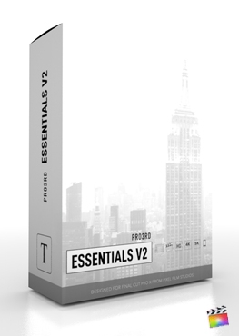 Final Cut Pro Plugin - Pro3rd Essentials Volume 2 from Pixel Film Studios