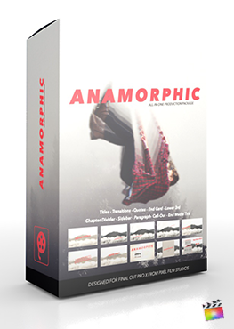 Final Cut Pro X Plugin Anamorphic Production Package from Pixel Film Studios