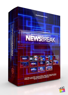 Final Cut Pro X Plugin NewsBreak Production Package