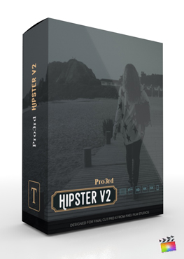 Final Cut Pro Plugin - Pro3rd Hipster Volume 2 from Pixel Film Studios