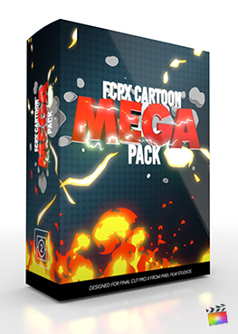 Final Cut Pro X Plugin FCPX Cartoon Mega Pack from Pixel Film Studios