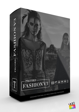 Final Cut Pro Plugin - Pro3rd Fashion Volume 3 from Pixel Film Studios