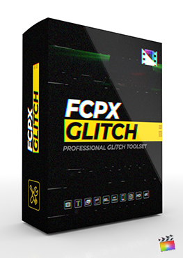 Final Cut Pro X Plugin FCPX Glitch from Pixel Film Studios