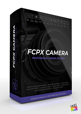 FCPX-Camera -Professional 3D Camera Tools in FCPX