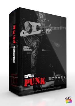 Final Cut Pro Plugin - Pro3rd Punk from Pixel Film Studios