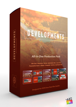Pixel Film Studios - Developments Production Package