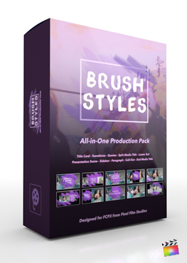 Pixel Film Studios - Brush Styles Production Package