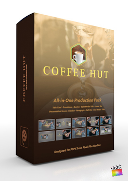Pixel Film Studios - Coffee Hut Production Package