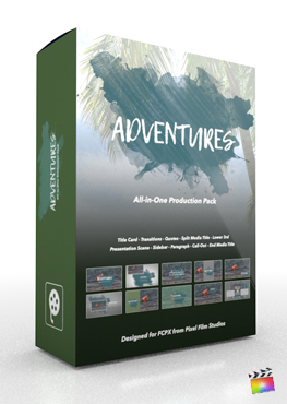 Final Cut Pro X Plugin Adventures Production Package from Pixel Film Studios