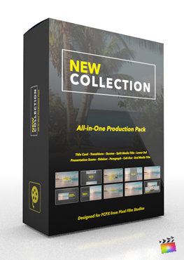 Final Cut Pro X Plugin Lazered Production Package from Pixel Film Studios