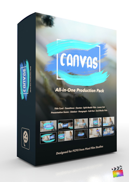 Final Cut Pro X Plugin's Canvas Production Package from Pixel Film Studios