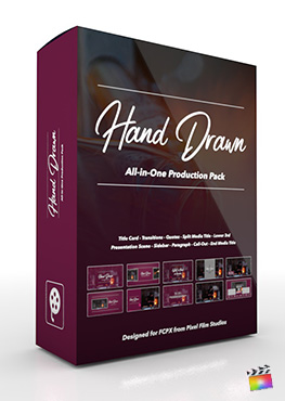 Final Cut Pro X Plugin's Hand Drawn Production Package from Pixel Film Studios
