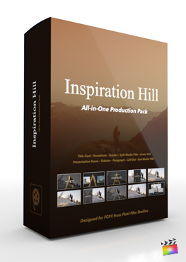 Final Cut Pro X Plugin's Inspiration Hill Production Package from Pixel Film Studios