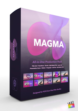 Final Cut Pro X Plugin Magma Production Package from Pixel Film Studios