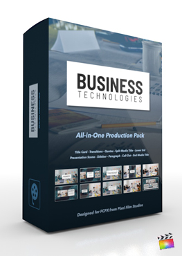 Pixel Film Studios - Business Technologies Production Package