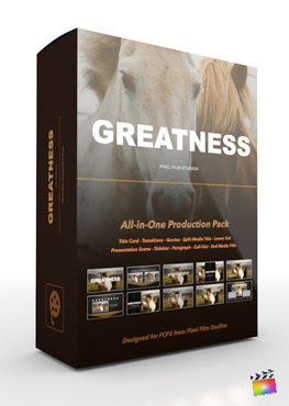 Pixel Film Studios - Greatness Production Package