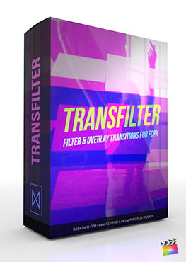 Final Cut Pro X Transition TransFilter from Pixel Film Studios