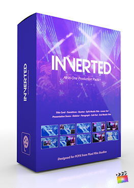Final Cut Pro X Plugin's Inverted Production Package from Pixel Film Studios