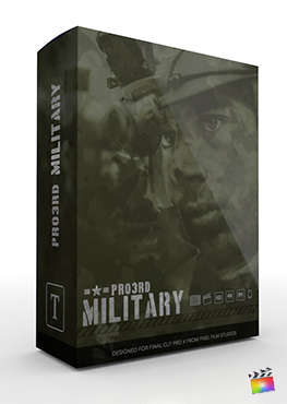 Final Cut Pro Plugin - Pro3rd Military from Pixel Film Studios