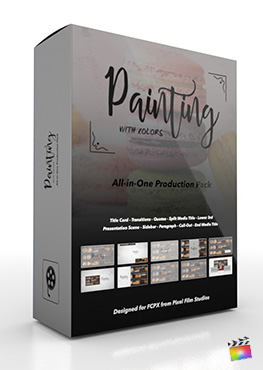 Final Cut Pro X Plugin's Painting With Colors Production Package from Pixel Film Studios