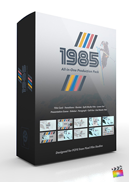 Final Cut Pro X Plugin's 1985 Production Package from Pixel Film Studios