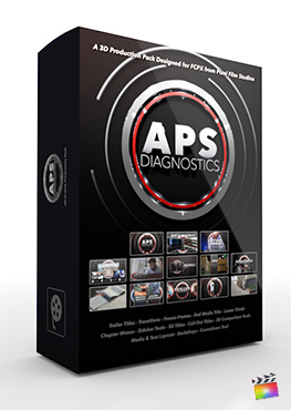 Final Cut Pro X Plugin APS Diagnostics 3D Production Package from Pixel Film Studios