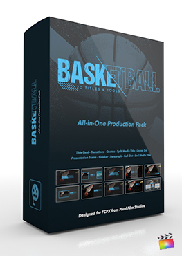 Final Cut Pro X Plugin's Basketball Production Package from Pixel Film Studios
