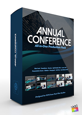 Final Cut Pro X Plugin's Annual Conference Production Package from Pixel Film Studios