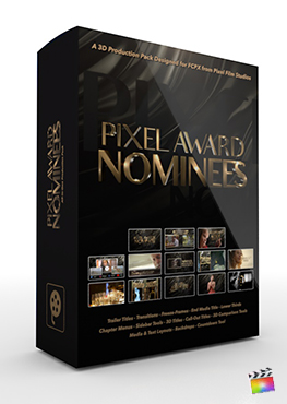 Final Cut Pro X Plugin Pixel Award Nominees 3D Production Package from Pixel Film Studios