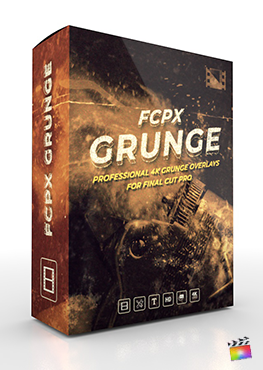 Final Cut Pro X Plugin FCPX Grunge from Pixel Film Studios