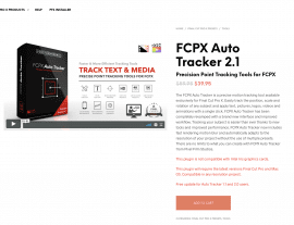 Pixel Film Studios Unveils FCPX Auto Tracker 2.1 for Final Cut Pro X