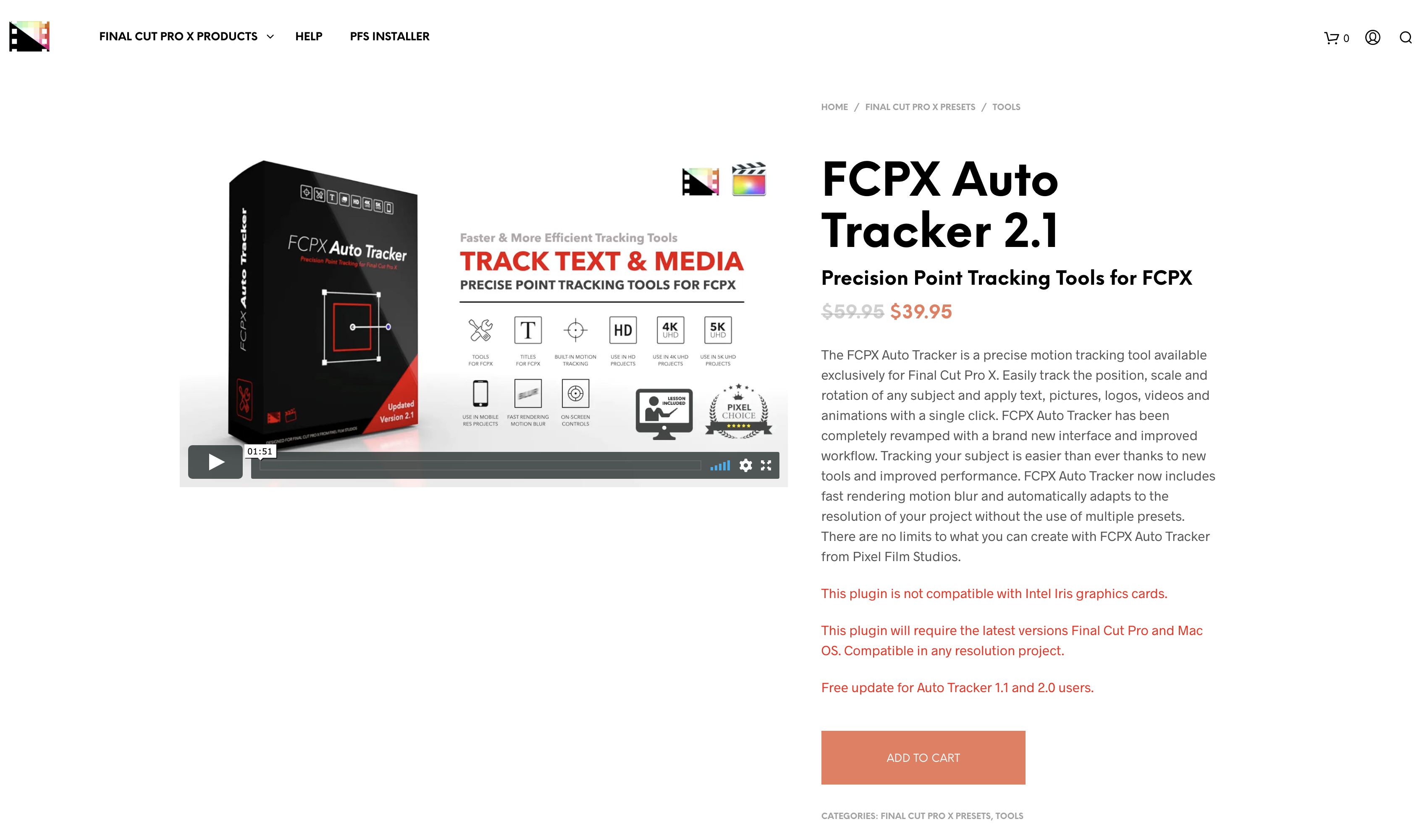 FCPX Auto Tracker 2.1 screenshot