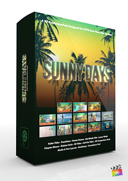 Final Cut Pro X Plugin Sunny Days 3D Production Package from Pixel Film Studios