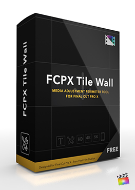Final Cut Pro X Plugin FCPX Tile Wall from Pixel Film Studios