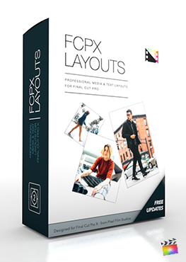 Final Cut Pro X Plugin FCPX Layouts from Pixel Film Studios