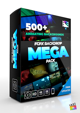 Final Cut Pro X Plugin FCPX Backdrop Mega Pack from Pixel Film Studios