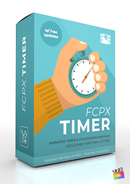 Final Cut Pro X Plugin FCPX Timer from Pixel Film Studios