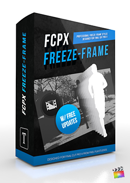 Final Cut Pro X plugin FCPX Freeze Frame from Pixel Film Studios