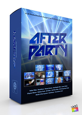 Final Cut Pro X Plugin After Party 3D Production Package from Pixel Film Studios