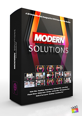 Final Cut Pro X Plugin Modern Solutions 3D Production Package from Pixel Film Studios