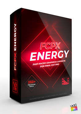 Final Cut Pro X Plugin FCPX Energy from Pixel Film Studios
