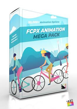 Final Cut Pro X Plugin FCPX Animation Mega Pack from Pixel Film Studios