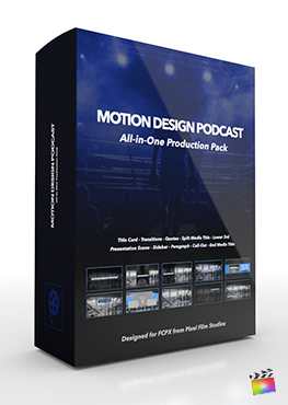 Final Cut Pro X Plugin Motion Design Podcast from Pixel Film Studios