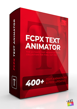 Final Cut Pro X Plugin FCPX Text Animator from Pixel Film Studios