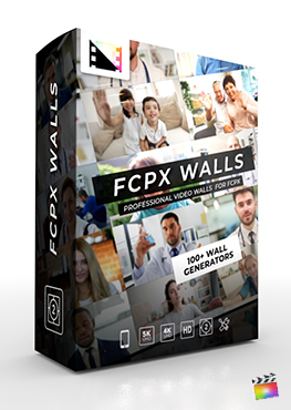 Final Cut Pro X Plugin FCPX Walls from Pixel Film Studios