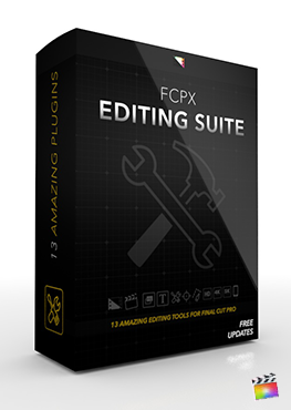 Final Cut Pro X Plugin FCPX Editing Suite from Pixel Film Studios
