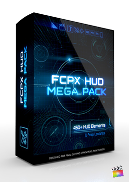 Final Cut Pro X Plugin FCPX HUD Mega Pack from Pixel Film Studios