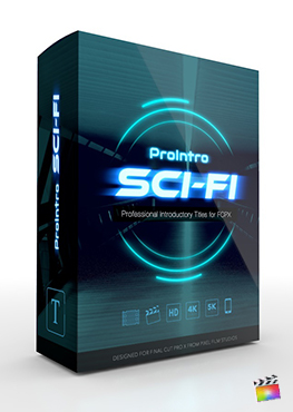 Final Cut Pro X Plugin ProIntro Sci-Fi from Pixel Film Studios